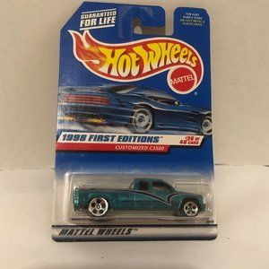 Hot Wheels 1998 First Editions Customized C3500